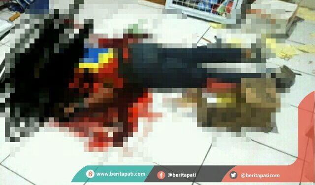 Pelaku Pembunuhan Karyawan Indomaret, Terekam Kamera CCTV