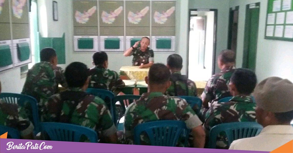 Jaga Soliditas Prajurit, Letkol Arm Arief Darmawan, Sambangi Makoramil Wedarijaksa