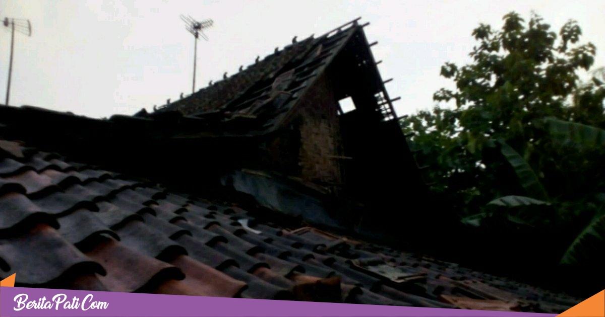 Diterjang Angin Puting Beliung, 39 Rumah di Jakenan Rusak