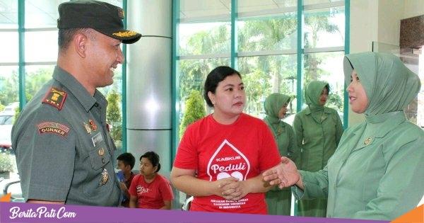 Kaskuser se Karasidenan Pati Gelar Donor Darah Bareng TNI dan Polri