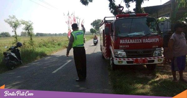 Kantor PDAM Tambakromo Terbakar, Kerugian Ditaksir Ratusan Juta Rupiah