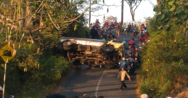 Oleng, Truk Tangki Tabrak Pengendara Motor di Gembong, Dua Orang Meninggal Dunia