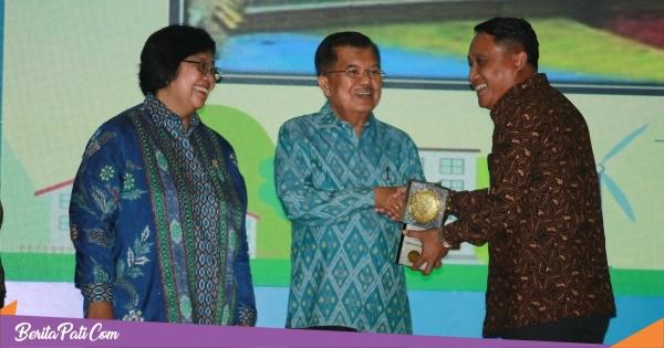 Pati Kembali Raih Adipura, Penghargaan Diserahkan Langsung Wapres RI