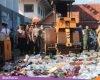 Ribuan Botol Miras Hasil Operasi Polisi Pati, Dimusnahkan