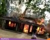 Api Lumat Satu Rumah di Kayen, Diduga Berasal Dari Memasak Lontong