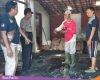 Gara-gara Tali Rafia, Gudang Rosok di Wuwur Gabus Terbakar