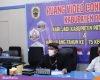 Wabup Safin Saat webinar nasional Mengisi Kemerdekaan dari Pesisir Jawa Tengah yang digelar oleh Koalisi Maritim Jawa Tengah (Komjen), dari Pati Command Center, Senin (17/8/2020),