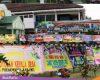 HUT TNI, Markas Kodim Pati Banjir Ucapan