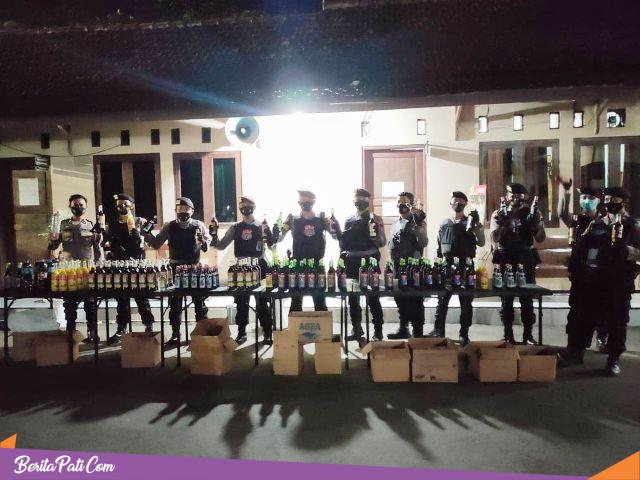 Satgassus Kebo Landoh, Intensifkan Operasi Miras Jelang pilkades dan Bulan Suci Ramadhan