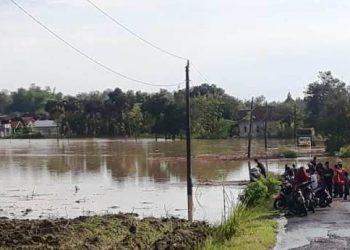 Fenomena Tak Biasa, Wilayah Jaken Diterjang Banjir