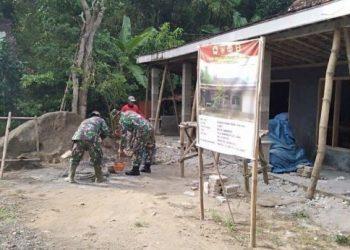 TMMD Pati, Rehab RTLH Tamansari Target 16 Unit