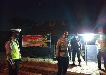Pos Pemantauan Kampung Baru Margorejo, Dijaga Ketat Polisi