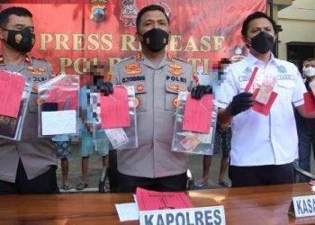 Polres Pati Berhasil Ungkap Kasus Curanmor dan Judi Balap Liar
